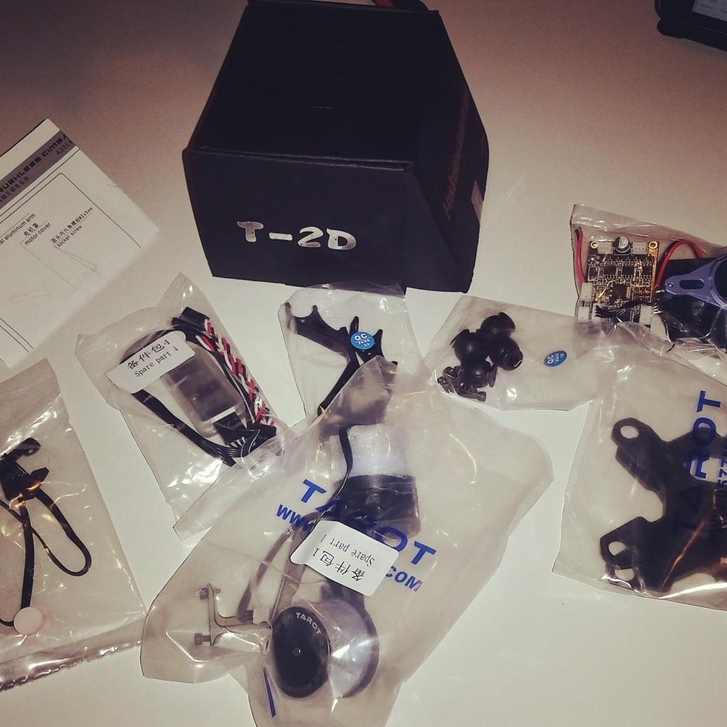 Tarot T-2D - unboxing